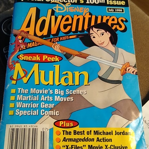Special Edition, 100th issue, Disney Adventure